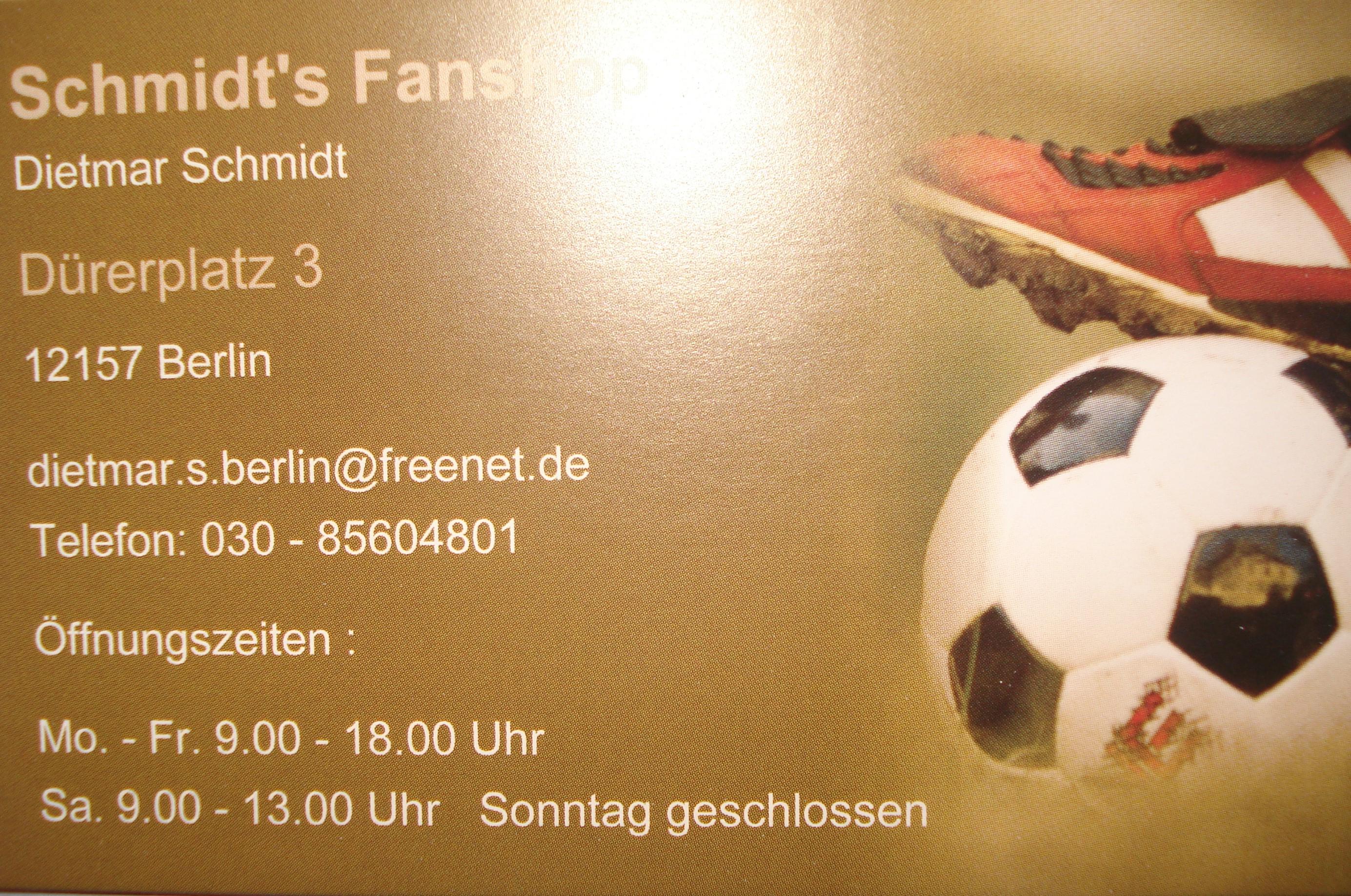 Schmidts Fanshop