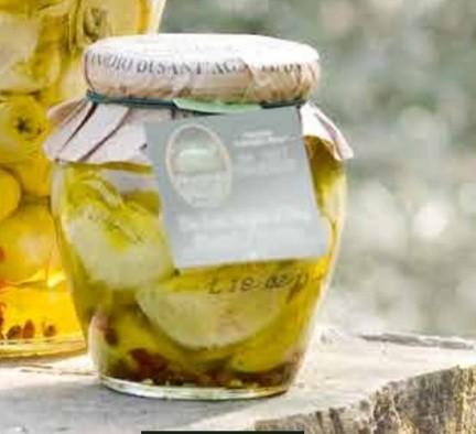 Artischocken in Olivenöl