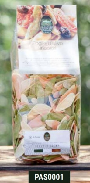 Pasta Foglie di olive Tricolore