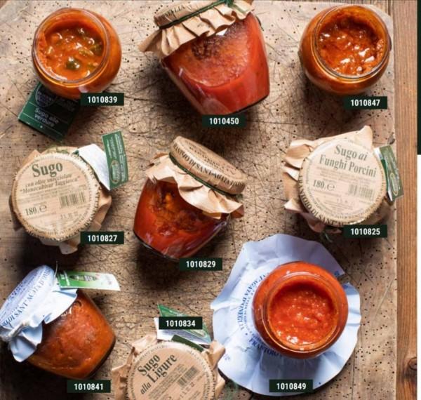 Tomatensauce mit Steinpilze