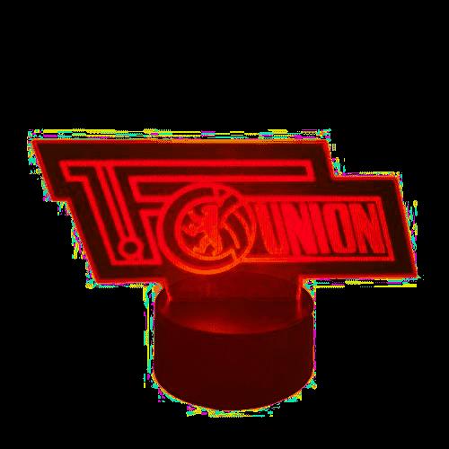 LED-Logo 1.FC Union Berlin Fussball Fanartikel